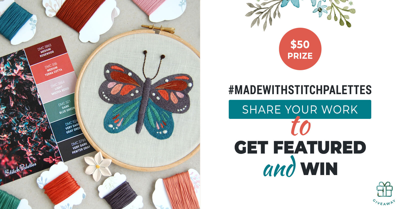 Share Your Work With The Stitch Palettes Community & Win