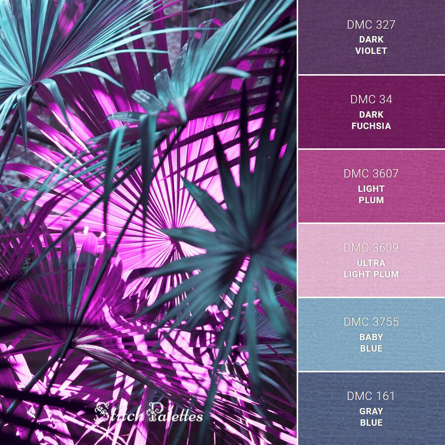 Stitch Palette SPA0500: Neon Nature