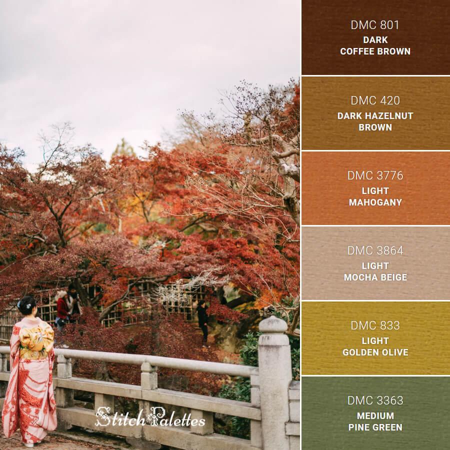 Autumn in Kimono