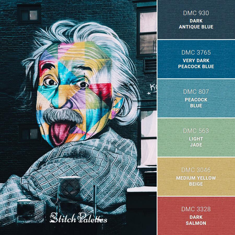 Stitch Palette SPA0515: Make It A Mural