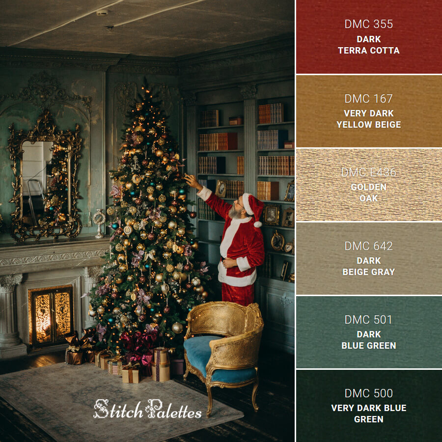 Stitch Palette SPA0519: Christmas Eve