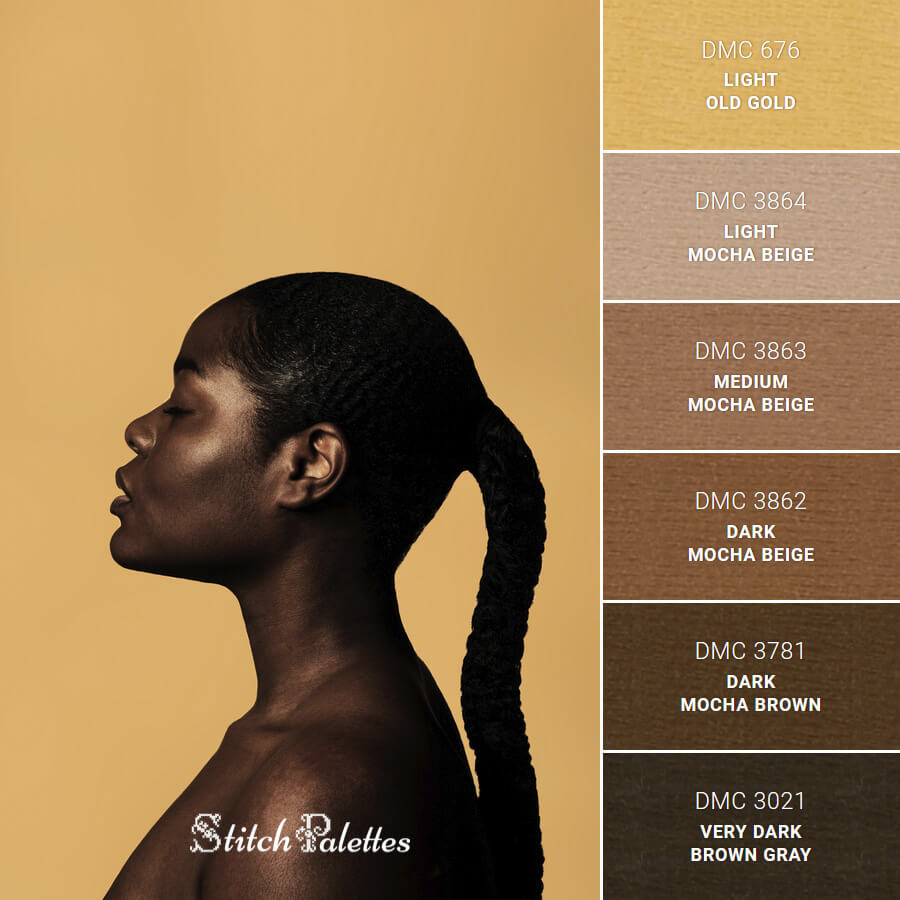Stitch Palette SPA0528: Sun Kissed Chocolate