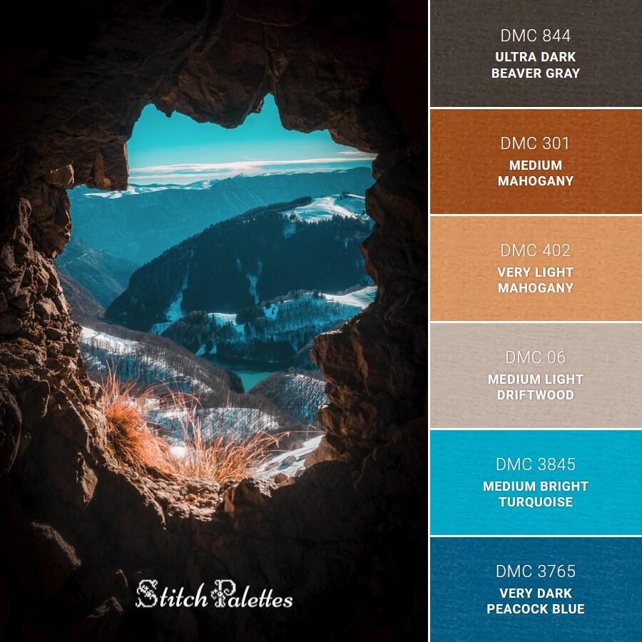 Stitch Palette SPA0553: Rocky Mountain