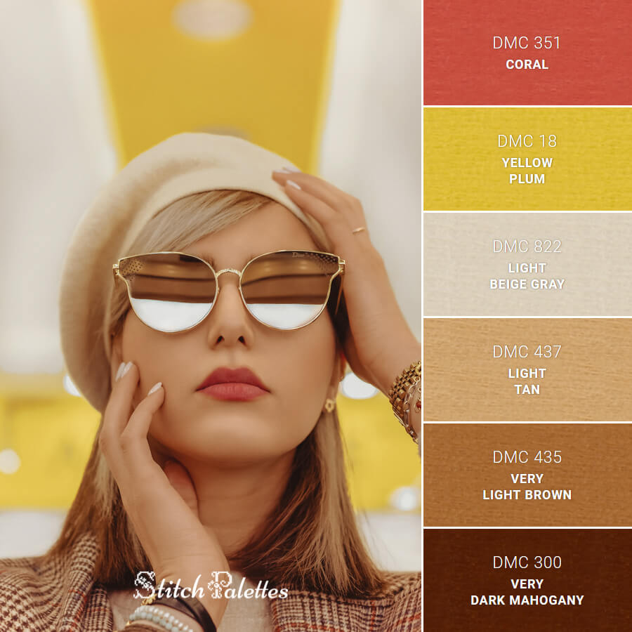 Stitch Palette SPA0561: A Touch Of Class
