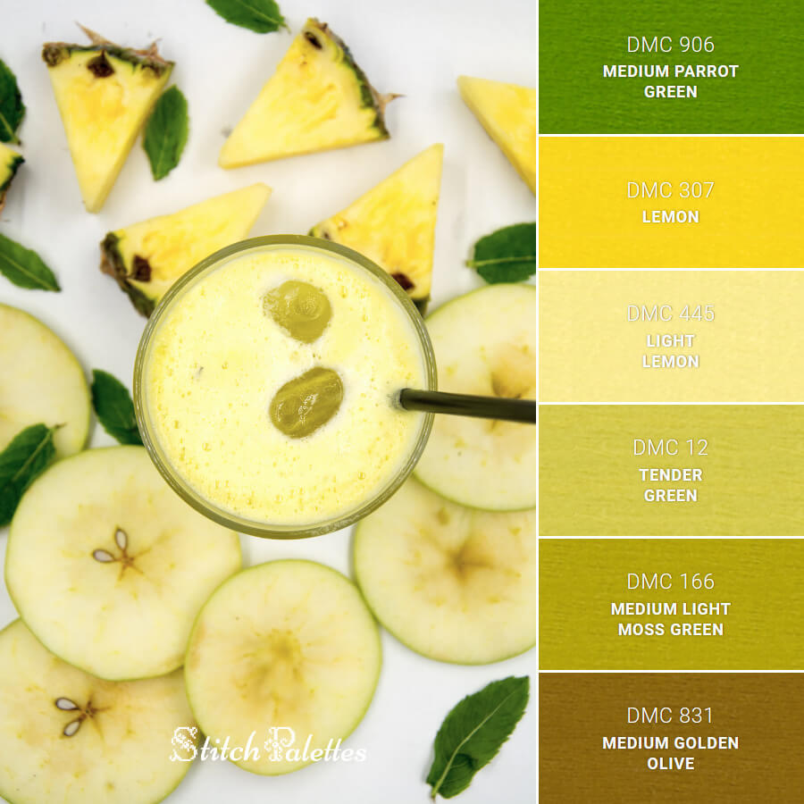 Stitch Palette SPA0586: Freshly Squeezed Health