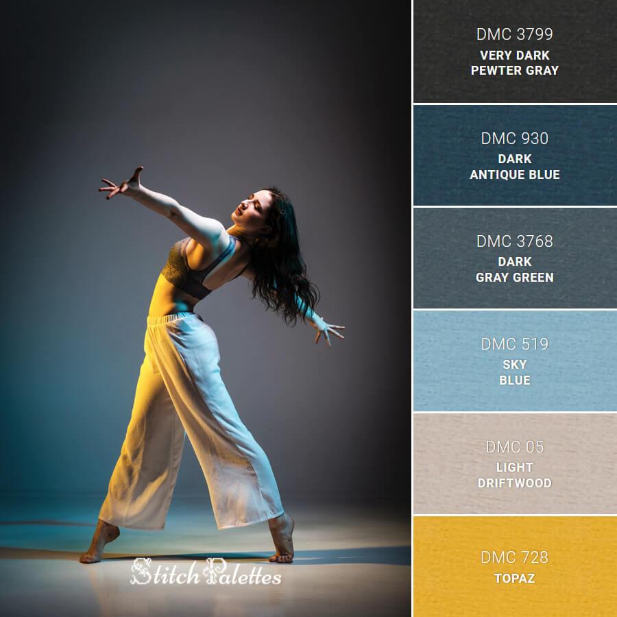 Stitch Palette SPA0590: Color Dance
