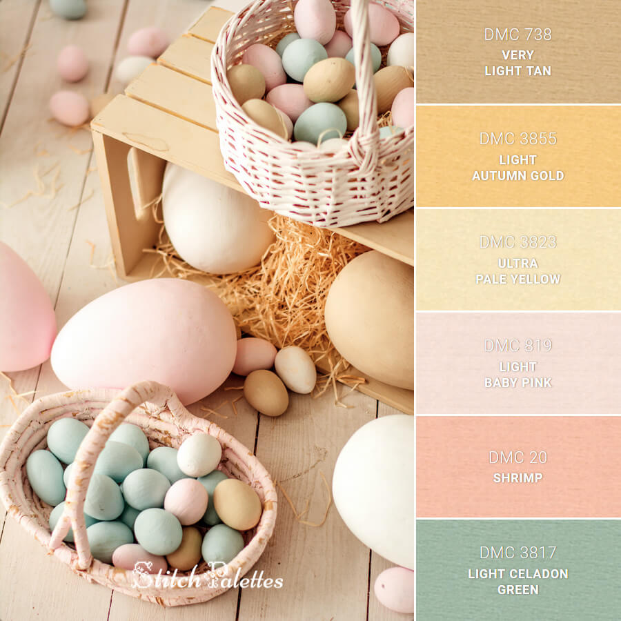 Pastel Hues Of Easter