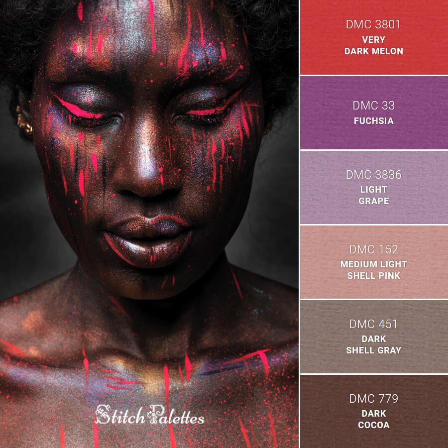 Mystical Neon Makeup