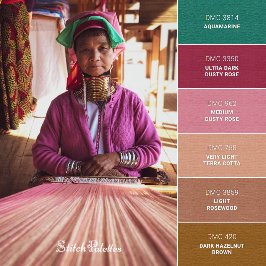 Stitch Palette SPA0649: Textiles In The Making