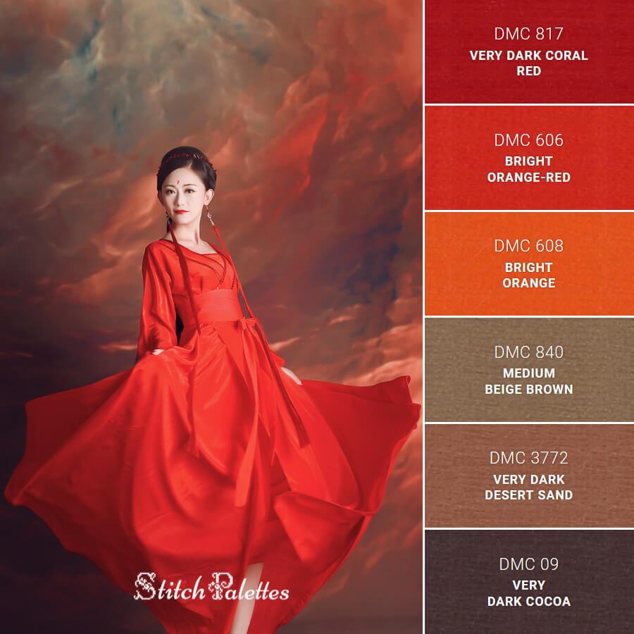 Vibrant Red Dress