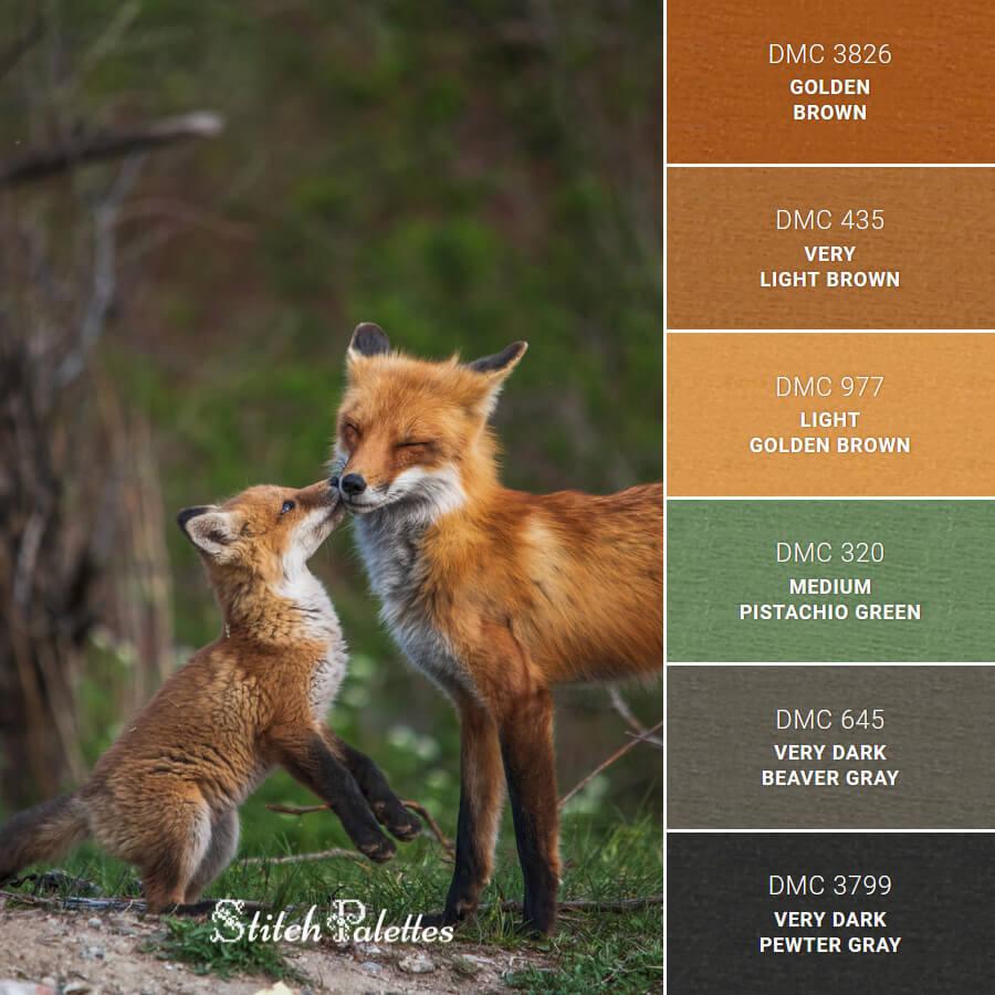 Kiss Of A Little Fox