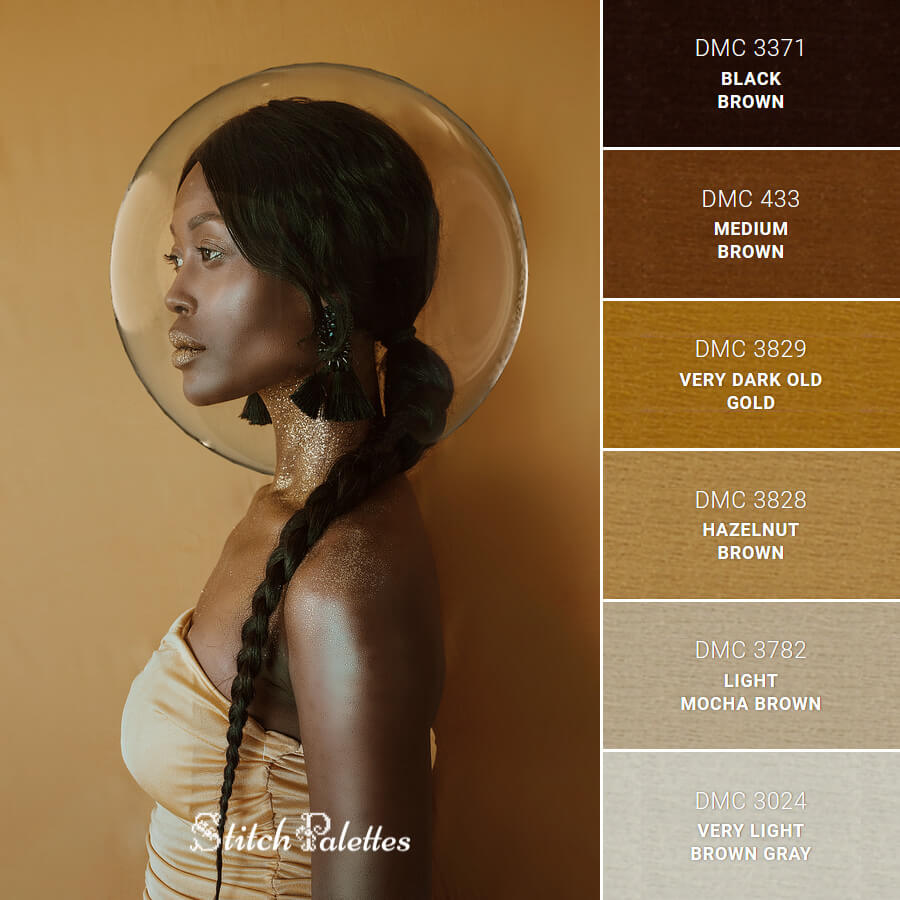 Golden Tones Portrait