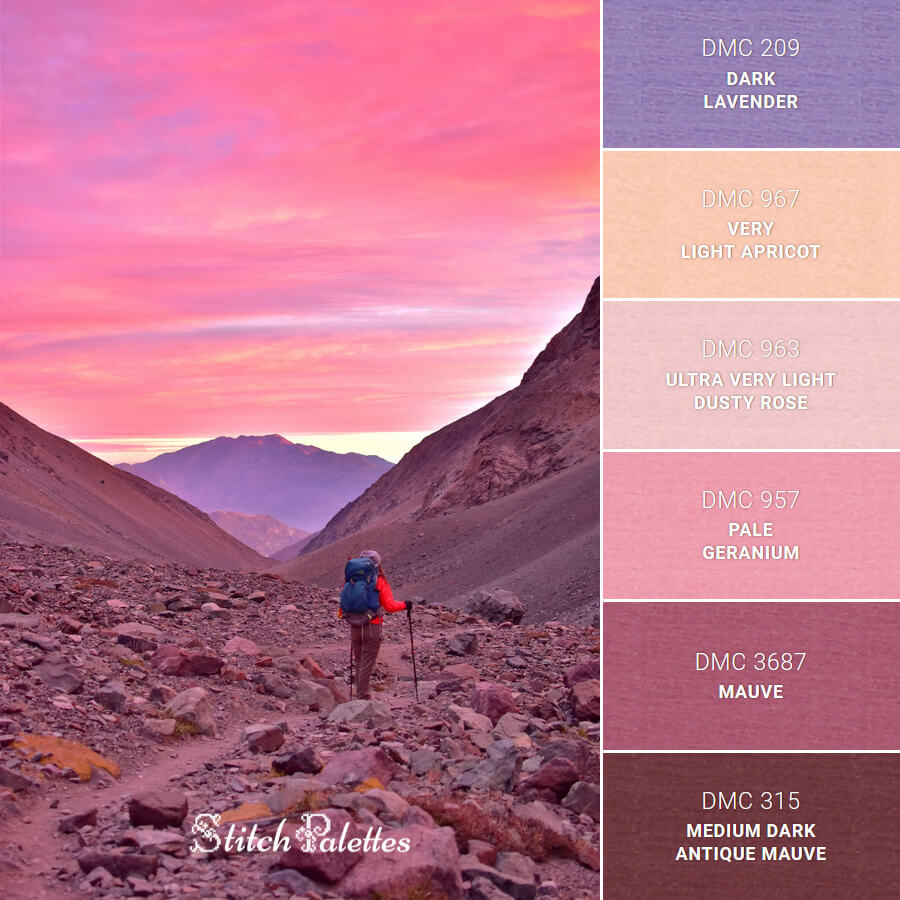 Hiking In Pink