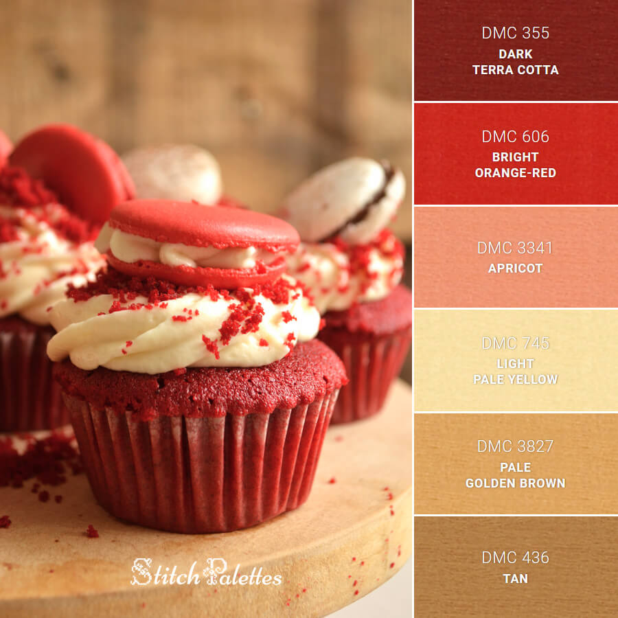 Red Muffin Deliciousness