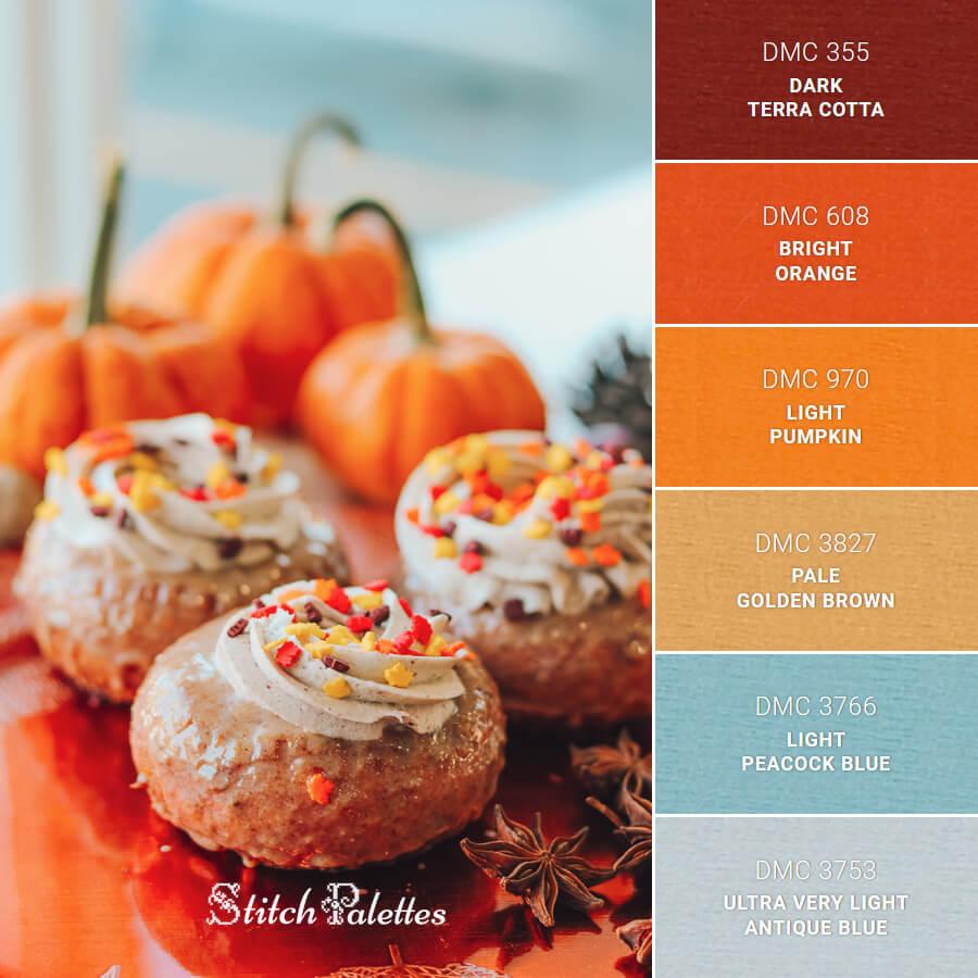 Orange Autumn Treats