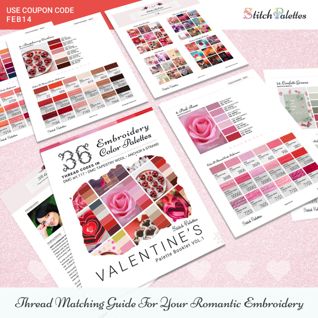 36 Valentine's Day Color Palettes